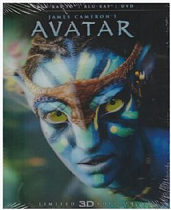 Avatar [Limitied Edition Artwork] [Blu-ray 3D]+[Blu-ray]+[DVD]
