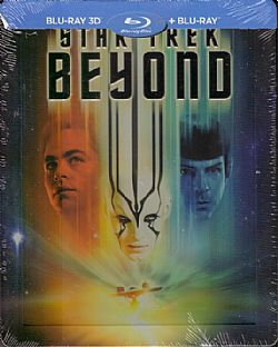 Star Trek Beyond [Steelbook] [Blu-ray 3D]+[Blu-ray]