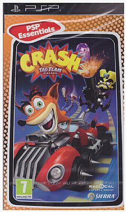 Crash Tag Team Racing [PSP] Essentials